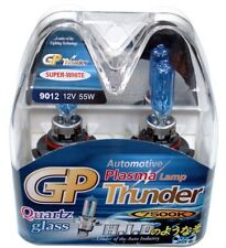 GP THUNDER 7500K 9012 9012LL HIR2 PX22D White Light Bulbs 4 Headlamp Dodge Fiat
