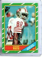 1986 TOPPS JERRY RICE ROOKIE