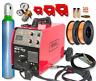 Schweißgerät 200Amp Schweißer-Wechselrichter MIG FCAW-GASLOS IGBT FLASCHE Ar/CO2