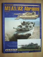 M1A1/A2 ABRAMS - CONCORD PUBLICATIONS MINI COLOR SERIES 7502