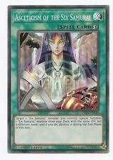 Asceticism of the Six Samurai SPWA-EN048 Super Rare Yu-Gi-Oh Card 1st Edit New