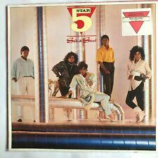 5 STAR - SILK & STEEL - 1986 Vinyl LP Album (Rain or shine, Cant Wait)