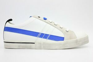 DIESEL D-Velows Low Lace Mens Fashion Sneaker Star White Imperial Size 10.5 NEW