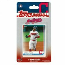2019 Topps Factory Cleveland Indians Team Set of 17 Cards