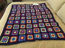 Handmade Afghan / Throw Blanket - Designer Collection - Primarily Delightful