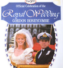 OFFICIAL CELEBRATION OF THE ROYAL WEDDING by Gordon Honeycombe 1986 Sarah Andrew