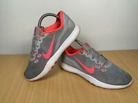 Nike Flex TR7 Women's Grey Pink Running Trainers Size UK 5 EUR 38.5