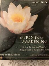 The Book of Awakening Having the Life You Want by Being Present Audiobook CD