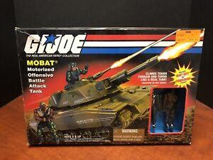 GI Joe 1998 Mobat Attack Tank Vehicle Complete With Box Dela0100