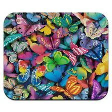 Butterfly Butterflies Rainbow Magic Low Profile Thin Mouse Pad Mousepad