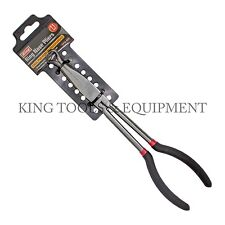"""KING Extra Long 11"""" RING NOSE PLIERS, 1/2"""" Circle Diameter, Extended Reach"""