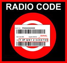 █► codice radio adatto per Daiichi FIAT Security codice