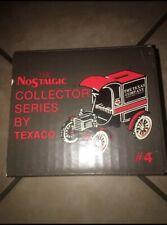Vintage ERTL Texaco 1905 Ford Delivery Car Van Locking Bank