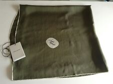 BNWT 100% Auth Isabel Marant, Ladies Luxury SILK Khaki Green Scarf RRP £230.00