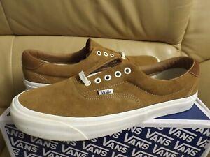 Vans Og Era 59 Lx (Suede) Tobacco Brown Men's Size 13 Skate Shoes VN0A3ZCBUMV