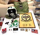 NASA Astronaut Bill Readdy NAMED USN Navy A-6 Intruder Flight Helmet Bag Patches
