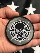 KILL ICON Military BLACK OPS SWAT Paintball Airsoft Morale Tactical Hk/Lp Patch
