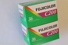 22 Pellicules photo 24x36 couleur FUJI Fujicolor 200 A