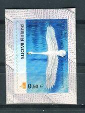 Finlandia /Finland 2002 Fauna il cigno autoadesivo MNH