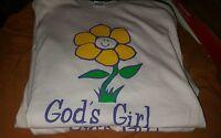 GOD'S GIRL  Christian T-Shirt (NEW)
