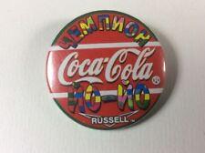 COCA COLA RUSSIAN CHAMPION YO-YO Russell. PIN BUTTON BADGE VERY RARE.