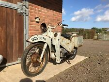 Velocette le 200cc ex police classic motocycle restoration winter project