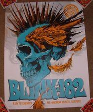 Blink 182 concert gig poster print St Paul 9-8-16 2016 Ken Taylor