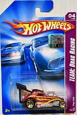 HOT WHEELS 2008 TEAM: DRAG RACING FIAT 500 #04/04 RED FACTORY SEALED