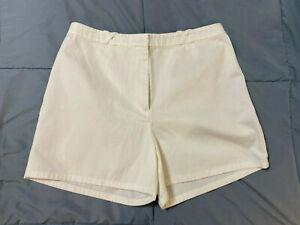 Women's Ann Taylor Loft Ivory Shorts Size 10 NEW!