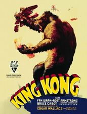 King Kong RKO Pictures 1933 Película Película Póster pared de metal acero signo UK Made