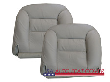 96-99 Chevy Truck 1500-2500-6.6L Diesel GAS D.P. Bottom Leather Seat Cover GRAY