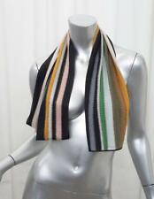 MISSONI Womens Striped Multicolor Knit Lightweight Scarf Wrap OS NEW NWT