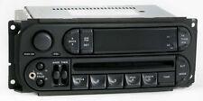 Dodge Ram 1500 2005 Radio AM FM CD Player w Aux Input P05091506AE Slider Ver RBK