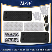 2Pcs Magnetic Gun Mount for Vehicle and Home Gun Magnet Firearm Accessories