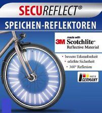 Speichenreflektoren 288 Stück für 4 Fahrräder 3M™-Scotchlite™-Reflexmaterial
