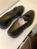 Celine Womens Loafers - Black leather With Tassel