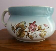 John Edwards Porcelaine De Terre England Chamber Pot Vintage