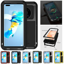 For Hauwei Mate 40 Pro /Mate 40 LOVE MEI Waterproof Metal Case Cover Protector