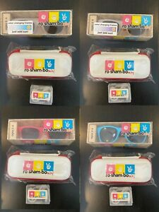 Roshambo Toddler shades sunglasses w/ case and ear strap/guard Combo Ages 2-4
