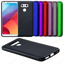 Funda para LG G6 GEL TPU silicona carcasa Lisa Mate Colores Varios Elige