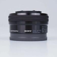 Objetivos con montura e para cámaras Sony