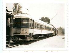 F999J RP 1950s?60s?  PE PACIFIC ELECTRIC RAILROAD MOTOR TRAIN TROLLEY #1543