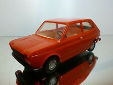 PIKO VINTAGE PLASTIC FIAT 127 - RED 1:20 - L17.5cm friction - GOOD CONDITION