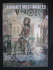 Mark Ryden Main Street USA Signed Poster Print Laminate Most Wanted 1 of 50
