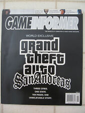 June 2004 GAME INFORMER Magazine Grand Theft Auto San Andreas #134 Video Game
