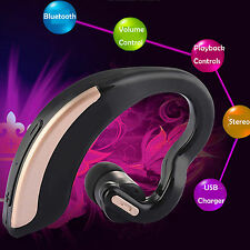 A2DP Stereo Bluetooth Headset For Samsung Galaxy S7 S6 S5 Active LG Class K7 K8