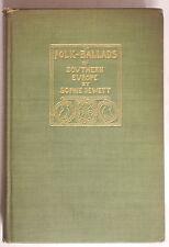 FOLK BALLADS OF SOUTHERN EUROPE TRANSLATED INTO ENGLISH VERSE Sophie Jewett