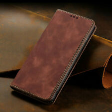 For Xiaomi Redmi Note 9 9S 8 Pro 8T Adsorption Luxury Wallet Leather Case Cover