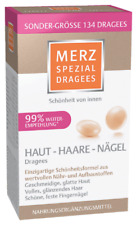 134 Dragees - Merz Spezial - Skin, Hair & Nails - Special - German Product
