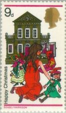 GREAT BRITAIN -1968- Christmas 1968 - Toys and Dolls - MNH Stamp - Scott #573